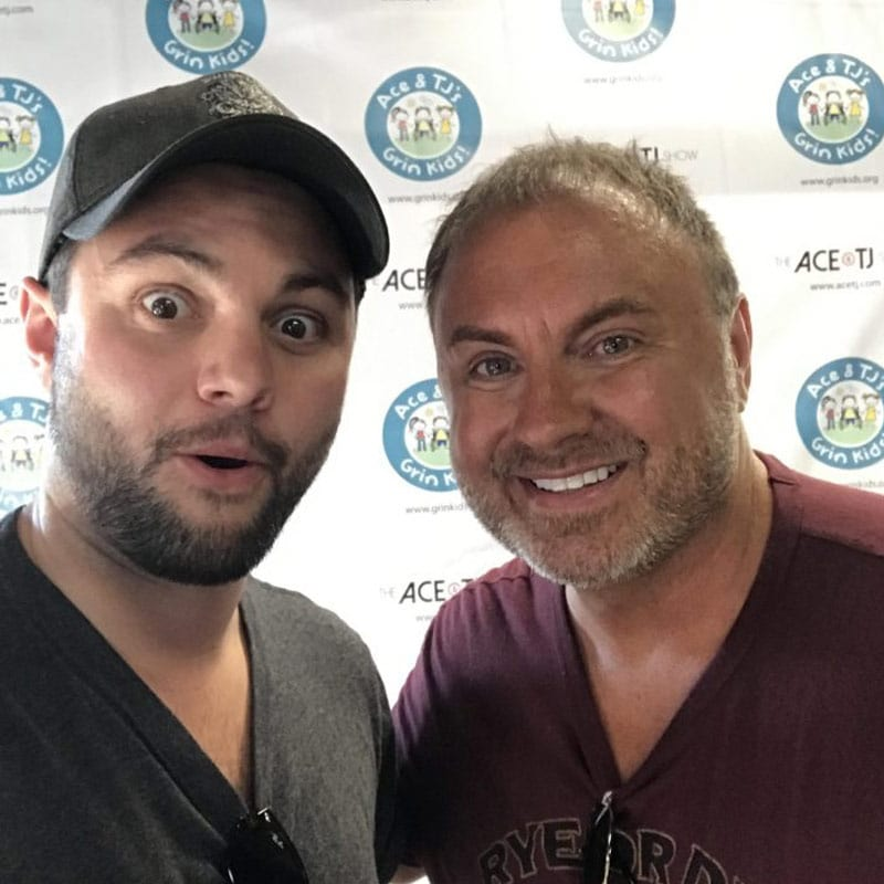 Paul with TJ