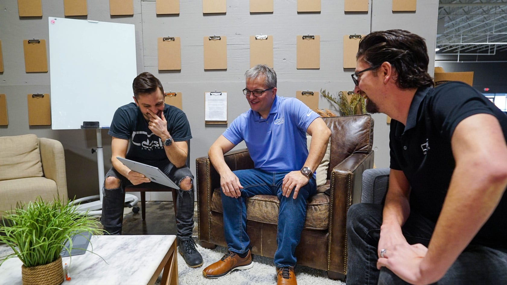 Dash founders meeting together